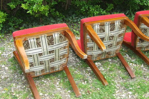 Art Deco furniture.