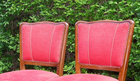 Art Deco Cloud Back chairs.