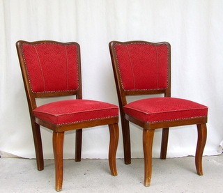 Pair of Art Deco Dining Chairs