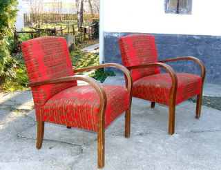 Pair of Vintage Cocktail Chairs.