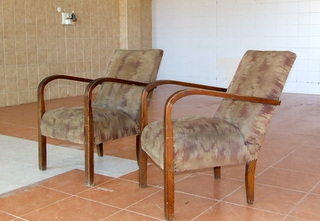 Pair of Art Deco Armchairs. £245